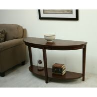 Contemporary Console with Low Shelf