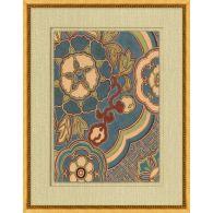 Antique Floral Pattern 2 22W x 28H