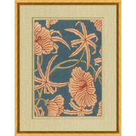 Antique Floral Pattern 3 22W x 28H