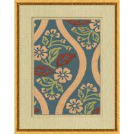 Antique Floral Pattern 4 22W x 28H
