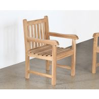 Natural Teak Garden Chair
