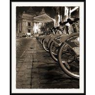 Stroll Through Paris - Velib Mairie de Paris 24W x 30H
