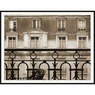 Stroll Through Paris - From the Window, Avenue Charles Floquet 44W x 34H