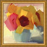 Flower Block 2 23.5W x 23.5H
