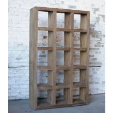 Reclaimed Teak Large Open Bookcase
