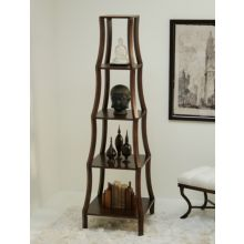 Chamberlin Etagere in Olde English Walnut