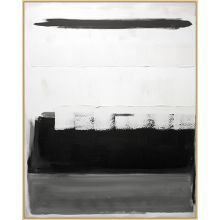 Black And White Block   40.25W X 50.25H