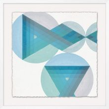 Intertwined Shape 3 25.5W x 25.5H