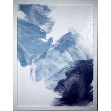 Painted Blue II 33W x 43H