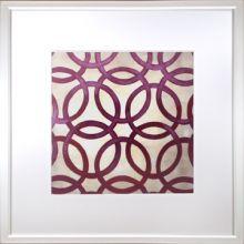 Custom Classical Symmetry - Purple 25W x 25H