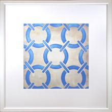 Custom Classical Symmetry - Blue 25W x 25H