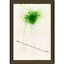 Green Flower 29W x 41H