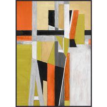 Citronela Cubism 34.75W X 48.75H