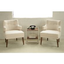 Simon Chair in Cream