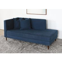 Alice Chaise in Navy
