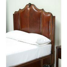 American Kaleidoscope Queen Leather Bed
