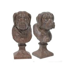 Pair of Dog Head Bookends