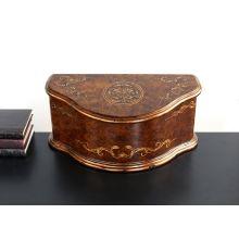 Polished Burlwood Keepsake Box