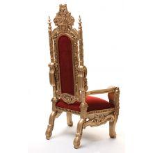 Antique Gold Throne Chair