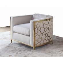 Gold Bullion Cobblestone Club Chair