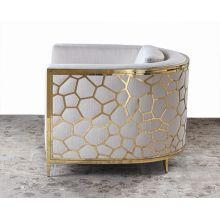 Gold Bullion Cobblestone Club Chair