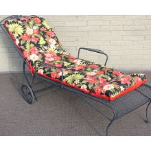 Cast Iron Patio Lounge Chair