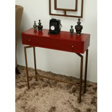 Mitchell Gold Ming Red Lacquer Chest