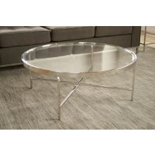 Mitchell Gold Vienna Round Cocktail Table
