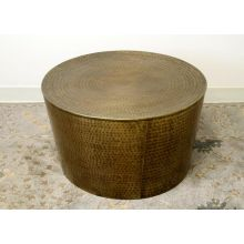 Antique Brass Iron Coffee Table
