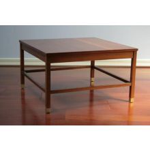 Walnut Coffee Table with Rosewood Corners