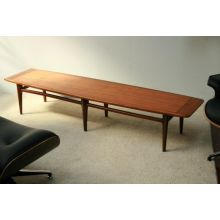 Vintage Danish Modern Style Coffee Table by Lane