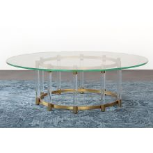 Beverly Round Cocktail Table