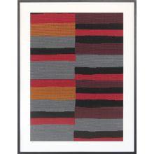 Serape Loomed Textile 36W X 48H