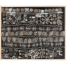 Joplin Embroidered Textile 50W X 40H