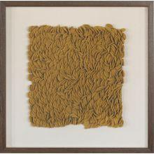 Tumeric Textural Abstract 24W X 24H