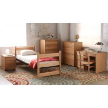 Dorm Style Twin Bed with Mattress