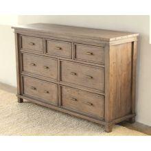 Settler 7 Drawer Dresser in Sundried Ash