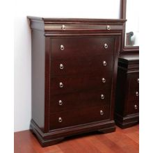 Espresso Louis Philippe Style Chest