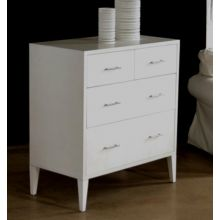 Painted White Contemporary Dresser