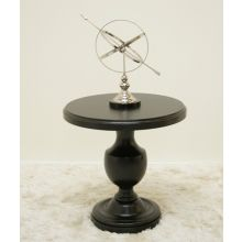 Addison Table with Distressed Black Finish