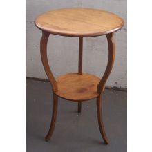 Antique Round Empire End Table
