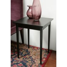 Adams End Table in Ebony Finish