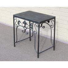 Cast Iron Patio End Table