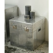 Whitman All-Metal Trunk End Table