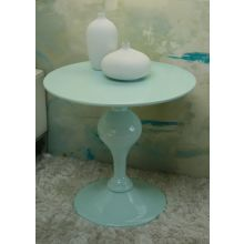Mitchell Gold Tina Turquoise Round End Table