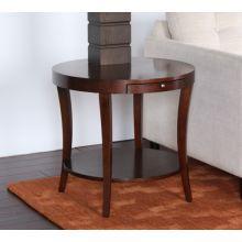 Presidio Round Lamp Table