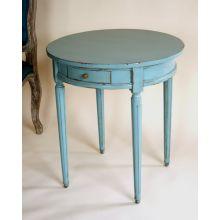 Robin's Egg Blue End Table