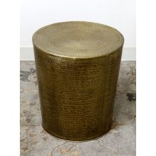 Antique Brass Iron Side Table