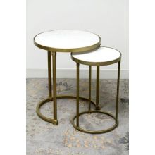 Set of 2 Clifford Side Tables