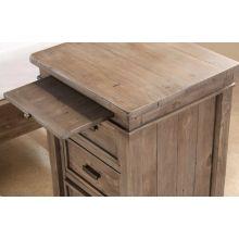 Settler Bedside Table in Sundried Ash